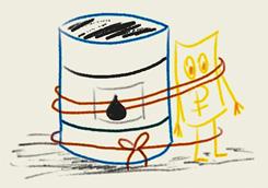 Рубль привязан к нефти